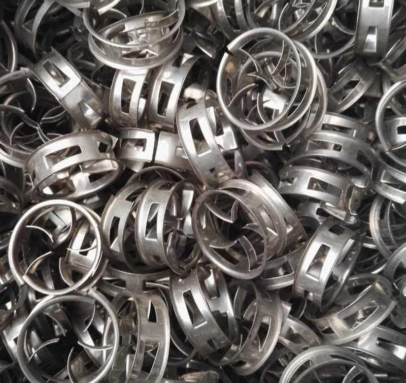 Metal Cascade Mini Rings