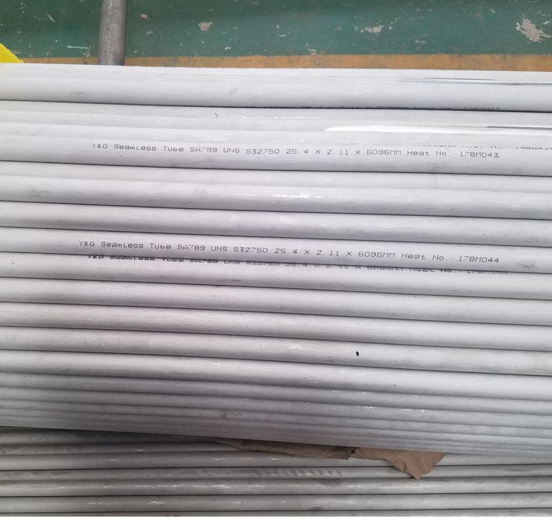 Duplex SS Pipe/Tube