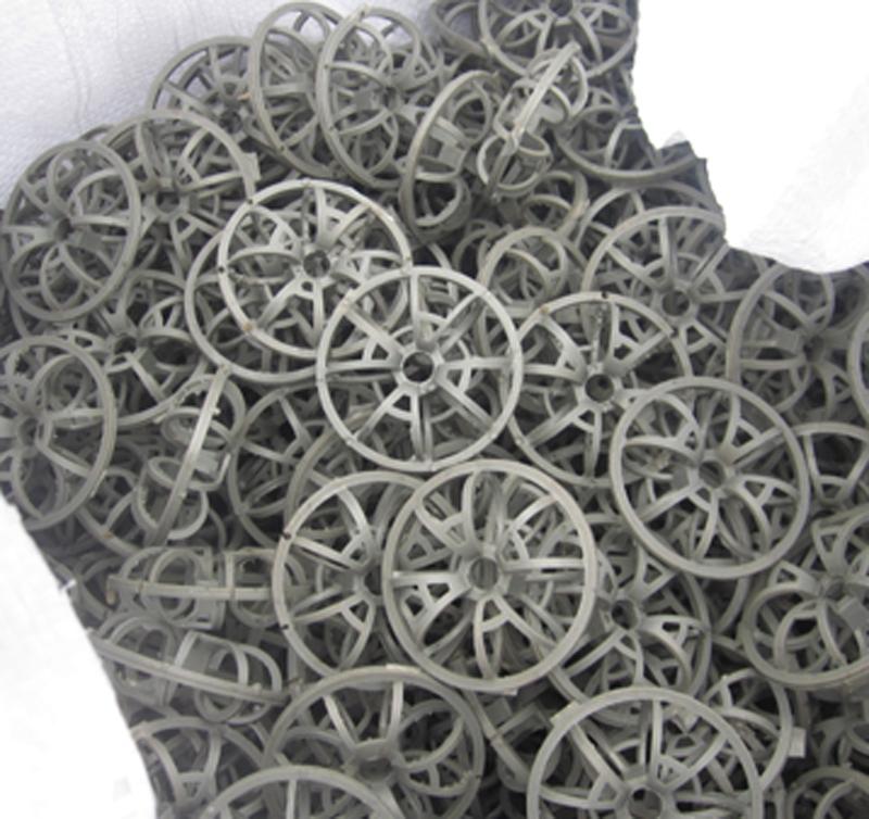 Plastic Tellerette Rosette Ring