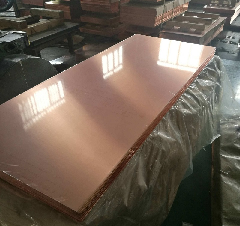 Copper and Copper Alloy Plate