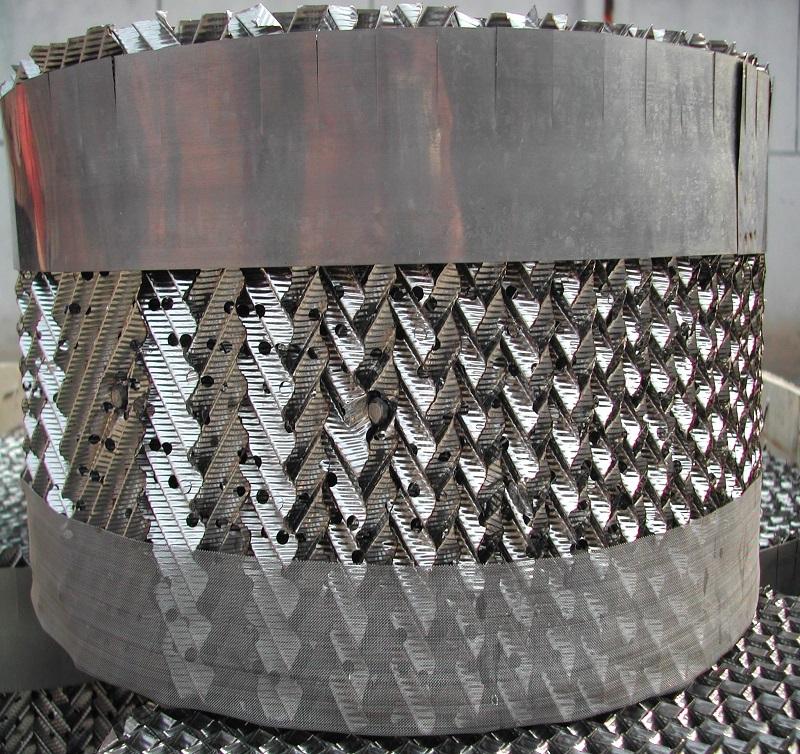 Metal Orifice Plate Corrugated Packing
