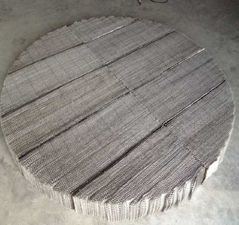 Metal Wire Mesh Structured Packing